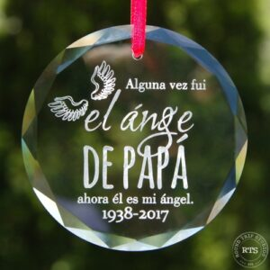 Crystal Angel Ornament