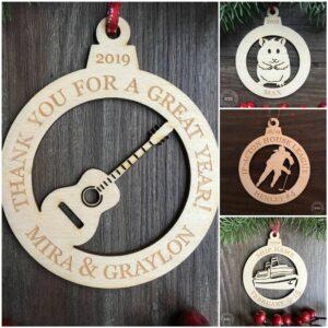Laser Cut Ornaments