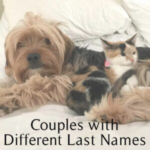 Best Designs for Couples with Different Last Names