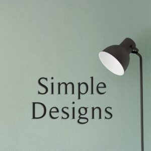 Simple Designs for Homeowners