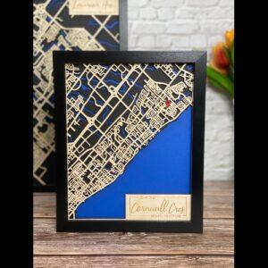 Mini Map of Burlington focused on your address.