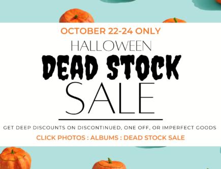 Dead Stock Sale 2021